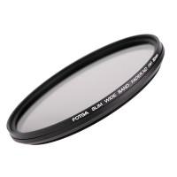 82mm светофильтр нейтрально-серый с переменной плотностью Fotga Slim Fader ND2-400