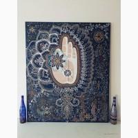 Картина авторская «Рука Мастера». Оберег для дома