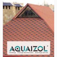 Акваизол, битумная черепица AQUAIZOL