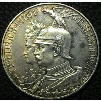 Германия 5 марок 1901 год СЕРЕБРО!!!! СОСТОЯНИЕ