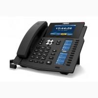 Fanvil X6U, sip телефон премиум класса, 20 SIP-аккаунтов, RJ9, USB, PoE