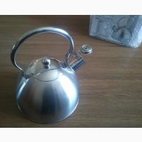 Индукционный чайник 2.5 литра со свистком экологичный, на ПОДАРОК