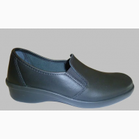02-11 Туфли кожаные женские, черные