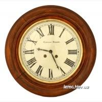 Старинные часы на стену Gustav Becker