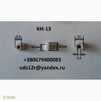 Керамический, изолятор КИ-13, втулка проходная, для тэн. лампы кгт