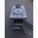 Чугунная печка (печь) буржуйка на 1 конфорку. Разборная. СССР
