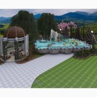 Ландшафтний дизайн та фасад будинку