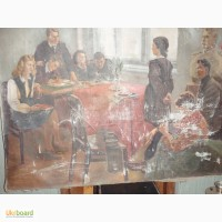Продам картину «Приём в комсомол»