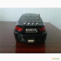 Портативная колонка авто WS-688 BMW