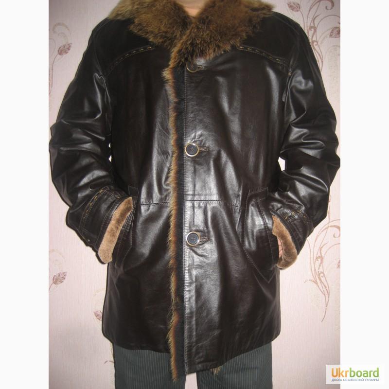 Продам мужская кожаная куртка 0e4d747044708