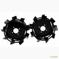 Купить грунтозацепы к мотоблоку (железные колёса) 450 мм