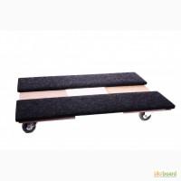 Тележка для перевозки мебели с войлоком