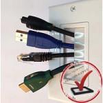 HDMI розетка декоративная настенная панель с модулями