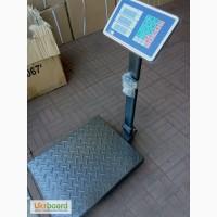 Весы для торговли платформенные со стойкой от 40 до 1000 кг