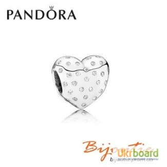 Оригинал PANDORA шарм сяюче серце 791241CZ