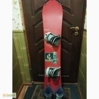 Продам сноуборд вместе с сапогами