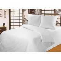 Комплект постельного белья белоснежный