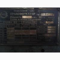 Продам трансформатор ТМАФ 630/6
