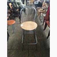 Продам стул б/у Венус из хромированного металла и фанеры для кафе, бара, пиццерии