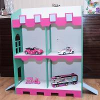 Большой домик-замок для мальчиков