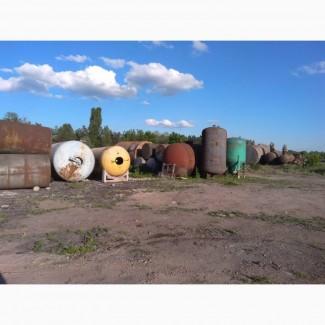 Емкости, резервуары, баки, бочки металлические от 1 до 50 кубов