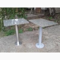 Гранитный столик для кафе бу, Столы с гранита б/у, стол б/у