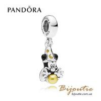 Pandora шарм-подвеска DISNEY ― Фокусник Микки #797493ENMX