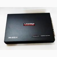 Автомобильный усилитель звука Boschman BM Audio BM-600.4 8000Вт 4-х канальный