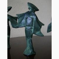 Винтажные скульптуры гейш в кимоно, Keiten Takahashi