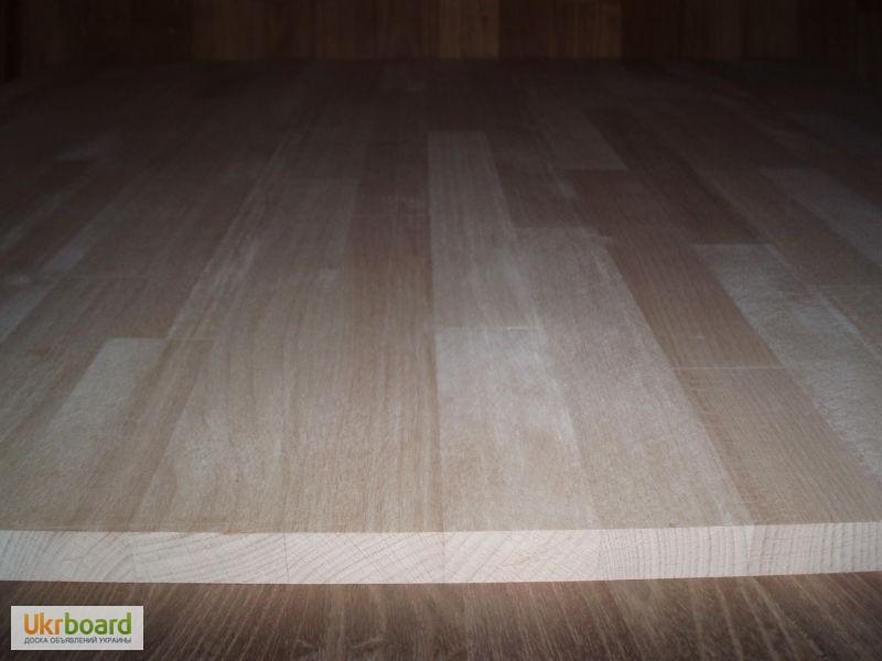 Подоконник деревянный из дуба, бука, ясеня, сосны
