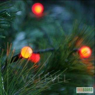 Гирлянды на фасад, свадьбу, деревья, дом, елку, батарейках, новый год купить