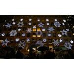 Светодиодные световые новогодние светящиеся звезды снежинки купить цена