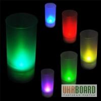 Свечи праздничные, меняющие цвет с сенсорным датчиком