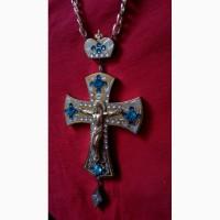 Церковная утварь -церковне начиння-хрест нагрудний Україна