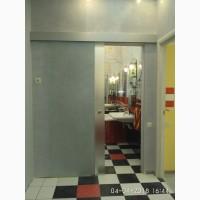 Стеклянные двери раздвижные для ванной комнаты