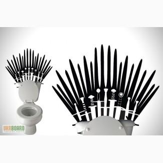 Виниловая наклейка Железный трон