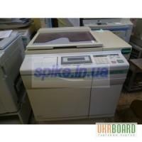 Продам ризограф GR3770 с очень малым пробегом, с интерфейсом SC 7500 и доп. цилиндром.