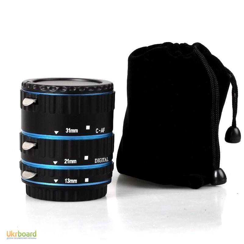 Макро кольца для Canon EOS с Авто фокусом