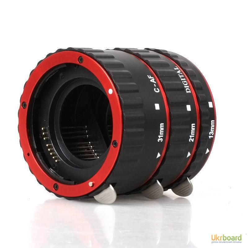 Фото 10. Макро кольца для Canon EOS с Авто фокусом