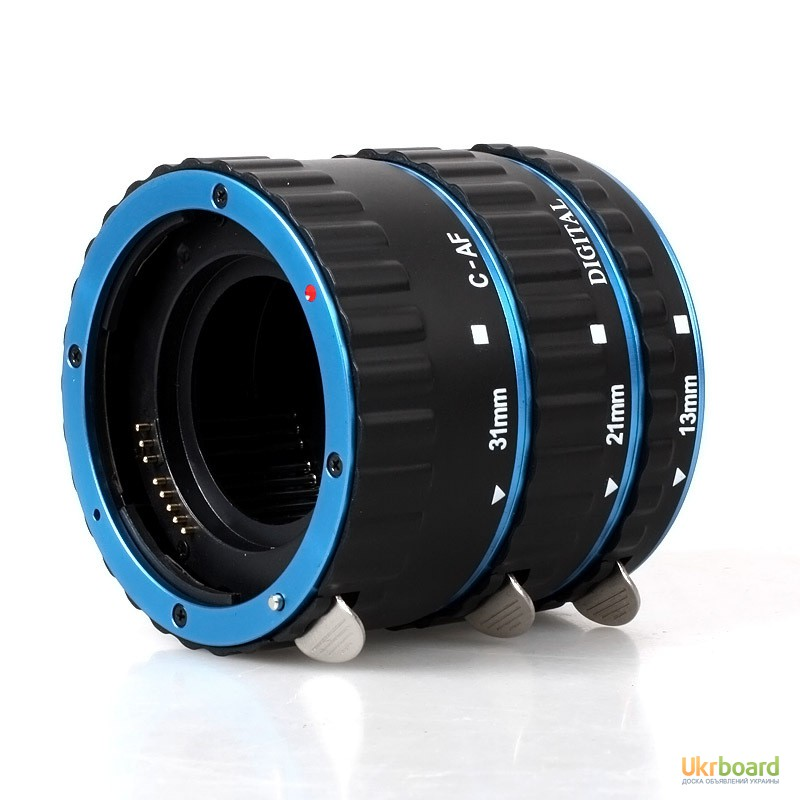 Фото 2. Макро кольца для Canon EOS с Авто фокусом