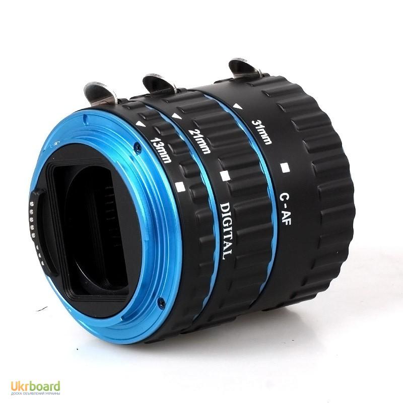 Фото 4. Макро кольца для Canon EOS с Авто фокусом