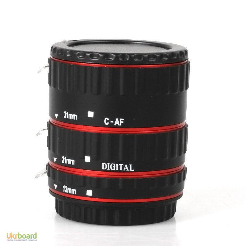 Фото 7. Макро кольца для Canon EOS с Авто фокусом