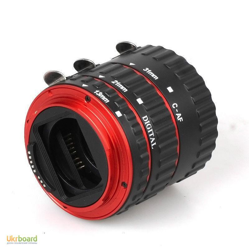 Фото 8. Макро кольца для Canon EOS с Авто фокусом