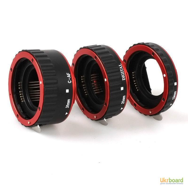 Фото 9. Макро кольца для Canon EOS с Авто фокусом