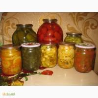 Экологически чистые продукты-домашняя консервация