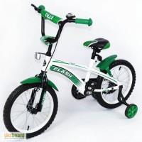 Велосипед Flash 16 дюймов bt-cb-0043 синий, красный, зелёный