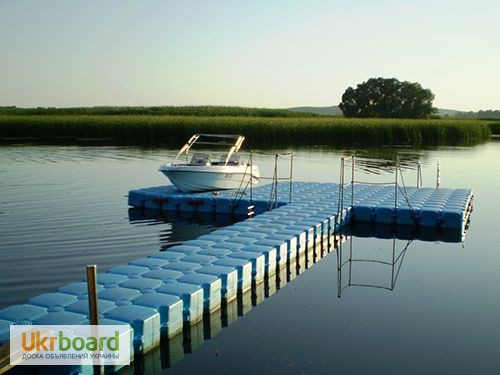причалы для стоянки лодок