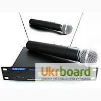 Радиомикрофон SHURE SM58. Вокальный радиомикрофон