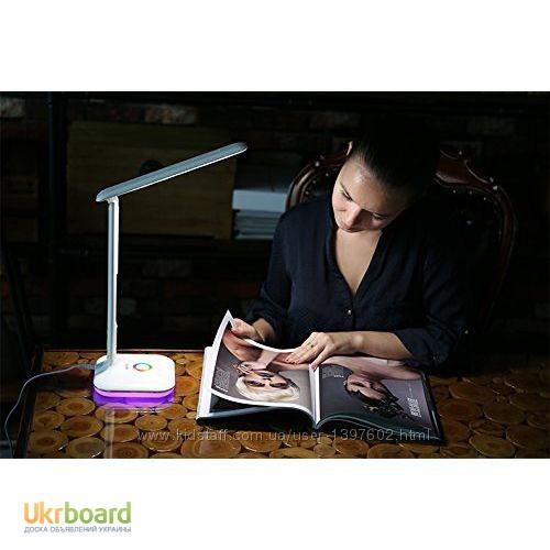Фото 2. Настольная LED лампа Remax RL-E270 с термометром Лампа может похвастаться тремя режимами