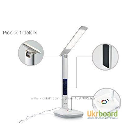 Фото 4. Настольная LED лампа Remax RL-E270 с термометром Лампа может похвастаться тремя режимами